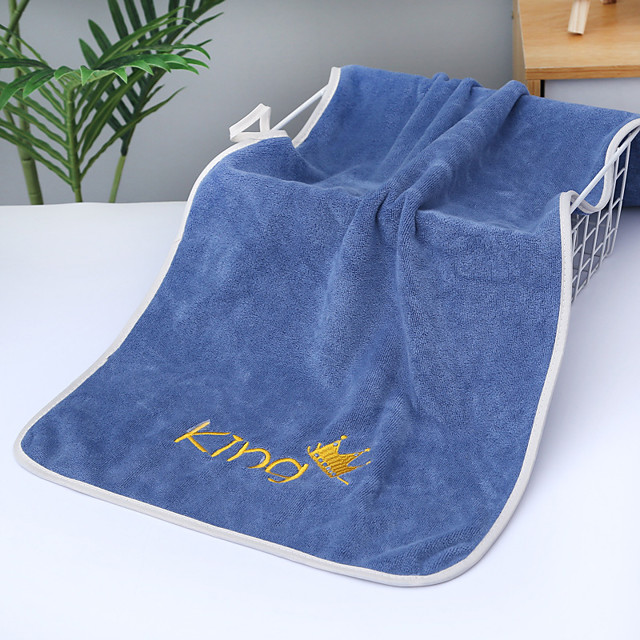 LITB Basic Bathroom Hand Towel Soft Coral Fleece Comfortable Daily Home Wash Towels For Gift 1 pcs 35*75cm