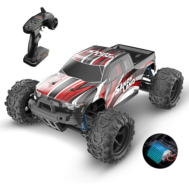 Model Car Rechargeable Remote Control / RC Electric 1:12 Buggy (Off-road) Racing Car High Speed 2.4G For Gift