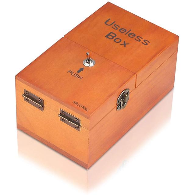 Useless Box Magic Box for Killing Time Wood Adults' Boys' Girls' Toy Gift