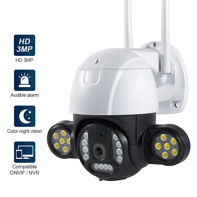 WAZA ST-496-3M-IC 3 mp IP Camera Indoor Support
