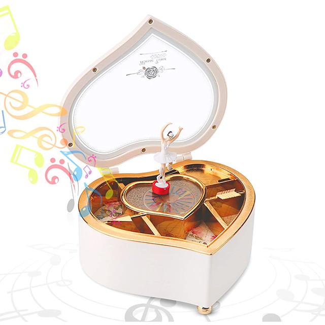 กล่องดนตรี กล่องดนตรีนักบัลเล่ต์ นักเต้นกล่องดนตรี คลาสสิกและถาวร โคมไฟ เอกลักษณ์ พลาสติก สำหรับผู้หญิง เด็กผู้หญิง สำหรับเด็ก ผู้ใหญ่ ของขวัญรับปริญญา Toy ของขวัญ / 14 ปี & มากกว่า