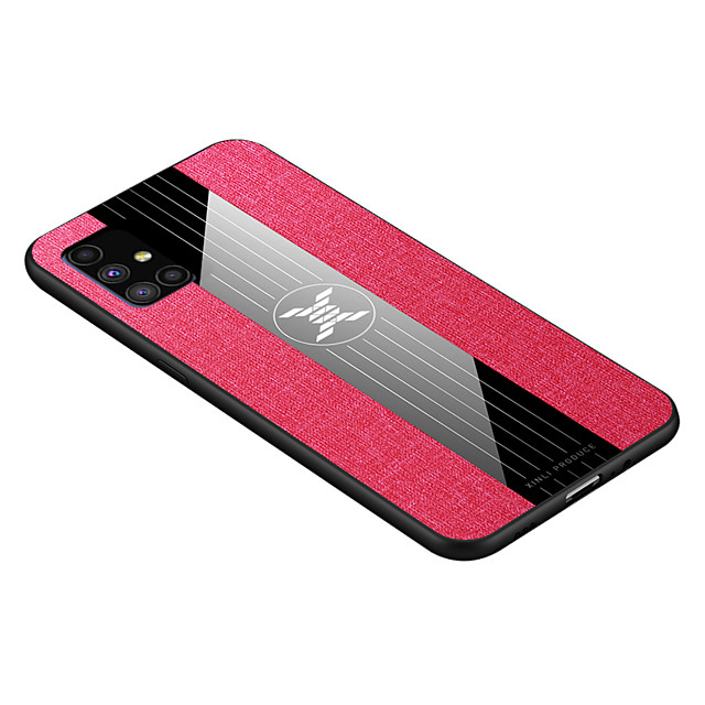 Phone Case For Samsung Back Cover Galaxy A12 Galaxy M30s Galaxy M31 A21s Galaxy M31s Galaxy A01 Core Galaxy M51 Galaxy A42 5G Shockproof Solid Colored PC