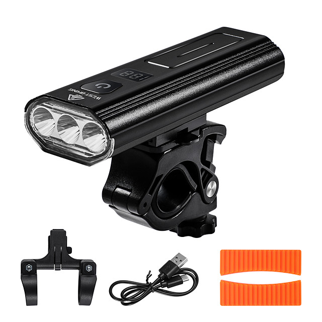 LED Bike Light Front Bike Light LED Bicycle Cycling Waterproof Super Bright Durable Rechargeable Lithium-ion Battery 1000 lm USB Camping / Hiking / Caving Cycling / Bike Fishing / Aluminum Alloy