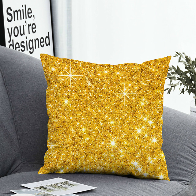 Cushion Cover 1PC Linen Soft 3D Square Throw Pillow Cover Cushion Case Pillowcase for Sofa Bedroom 45 x 45cm (18 x 41 Inch)Superior Quality Machine Washable