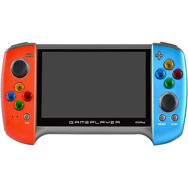 10000+ Games in 1 Handheld Game Player Game Console Rechargeable Mini Handheld Pocket Portable Support TV Output Classic Theme Retro Video Games with 5.1 inch Screen Kid's Adults' Men and Women 1 pcs