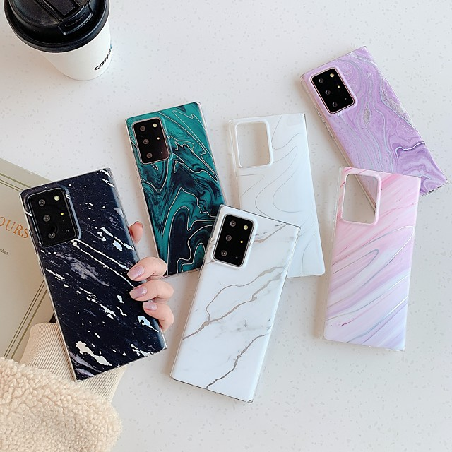 Marble Case For Samsung Galaxy S21 Plus S21 Ultra Shockproof Back Cover Marble TPU Coque For Samsung Galaxy A70 A71 A51 A41 A40 A50 A30S A50S A21S