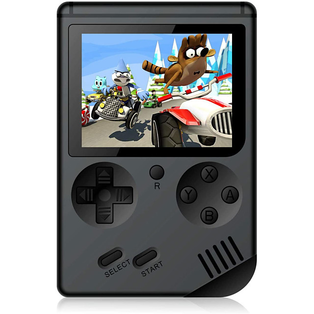 500 Games in 1 Handheld Game Player Game Console Rechargeable Mini Handheld Pocket Portable Support TV Output 2 Players Retro Video Games with 3 inch Screen Kid's Adults' Boys' Girls' 1 pcs Toy Gift