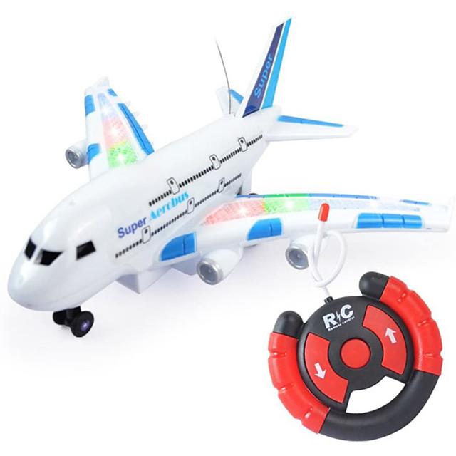 Toy Airplane Plane Classic Theme Remote Control / RC Simulation Exquisite Plastic & Metal Kid's Unisex Toy Gift 1 pcs / Parent-Child Interaction