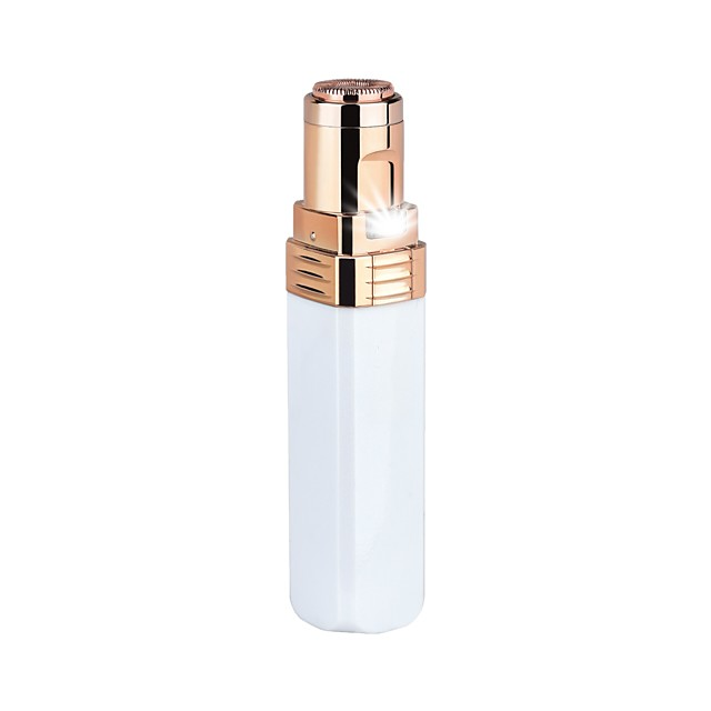 Pearl White High Gloss Black Ladies Electric Shaver Lipstick Hair Remover Gold Plated Epilator Hair Puller
