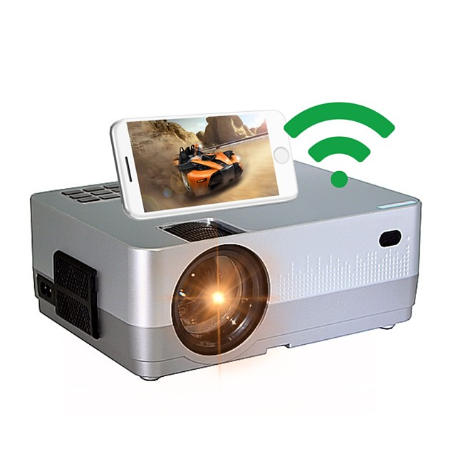 HQ3 Mini Projector LED Projector 3000 lm WIFI Projector