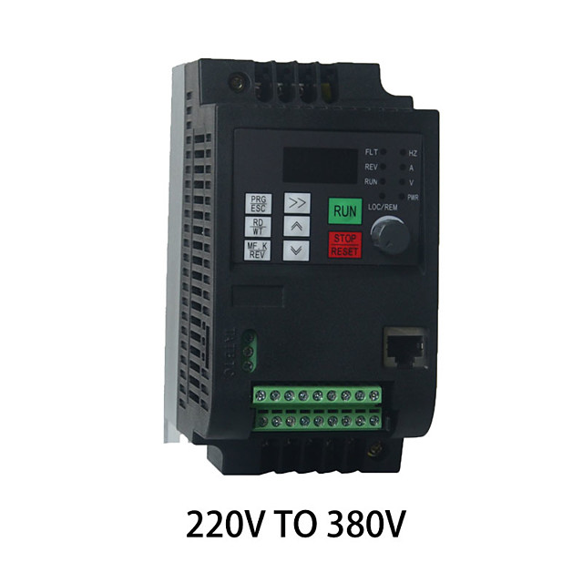 Single-phase 220V input 50Hz/60Hz 2.2kw3HP three-phase 380V output 650HZ frequency converter speed controller motor speed controller