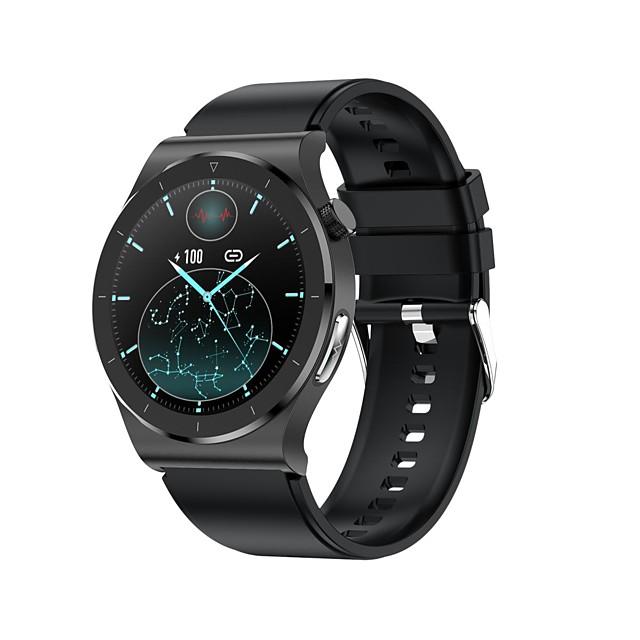 E20 Älykello Bluetooth EKG + PPG Sekunttikello Askelmittari Vedenkestävä Kosketusnäyttö Sykemittari IP68 46mm kellokotelo varten Android iOS Miehet Naiset / Verenpaineen mittaus / Urheilu