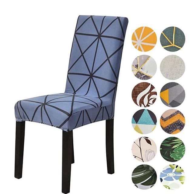 Stoltrekk Damaskvev / Geometrisk / Moderne Trykket Polyester slipcovere