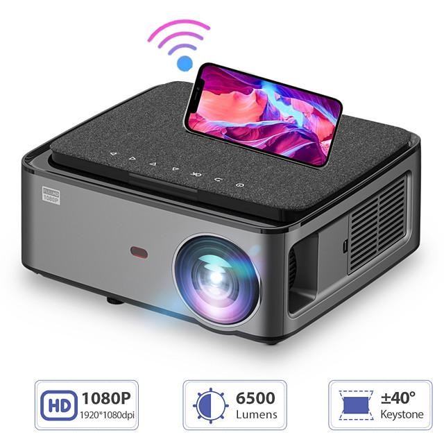 rd8281080pフルHDプロジェクターwifiマルチスクリーンプロジェクター1920x1080pスマートフォンビーマー3Dホームシアタービデオシネマ