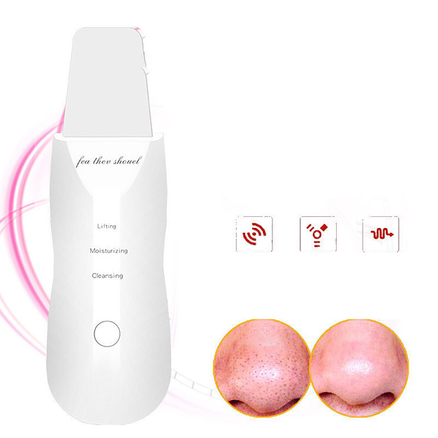 Ultrasonic Introduction Instrument Face Washing Instrument Shoveling Machine Pore Cleaning And Blackhead Removal Electric Blackhead Suction Instrument