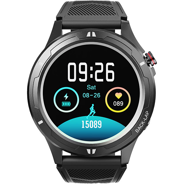 LOKMAT COMET 3 Smartwatch Support Bluetooth Call/Play Music/Heart Rate/Blood Pressure Measure, Sports Tracker for iPhone/Android Phones