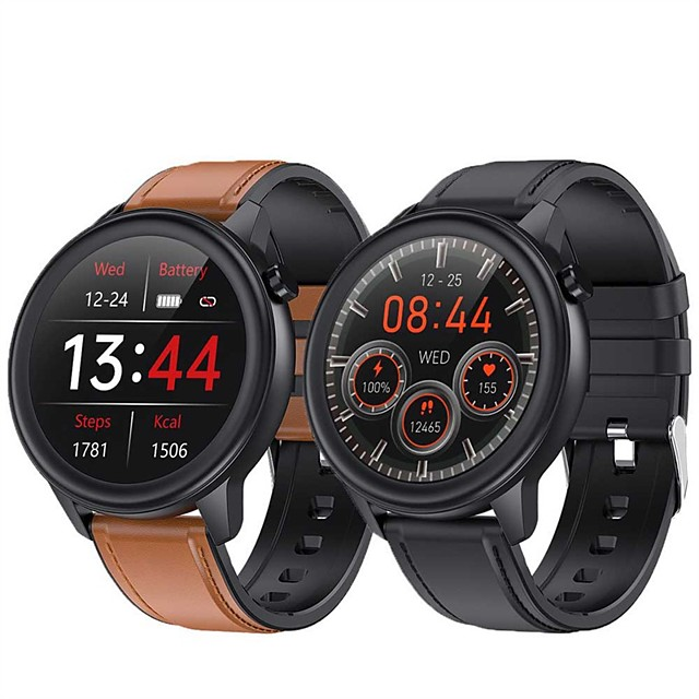 Factory Outlet F81 Smartwatch Fitness Watch Bluetooth 1.3 inch Screen IP68 Waterproof Touch Screen Heart Rate Monitor Pedometer Call Reminder Sleep Tracker 44mm Watch Case for Android iOS Samsung