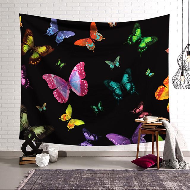 zidna tapiserija umjetnički dekor pokrivač zavjesa koja visi kući spavaća soba ukras dnevna soba poliesterski leptir
