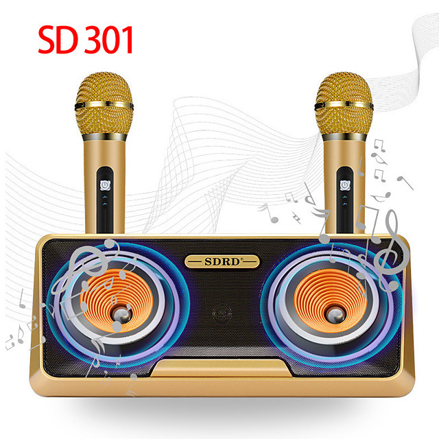 SD-301 Subwoofer Speaker Wireless Bluetooth Outdoor Portable Speaker For Mobile Phone