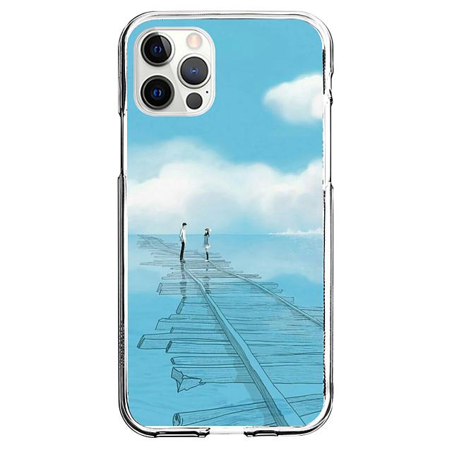 Kreatywne Litery telefon Walizka Dla Apple iPhone 12 iPhone 11 iPhone 12 Pro Max Unikalny design Ochronny pokrowiec Wzór Osłona tylna TPU