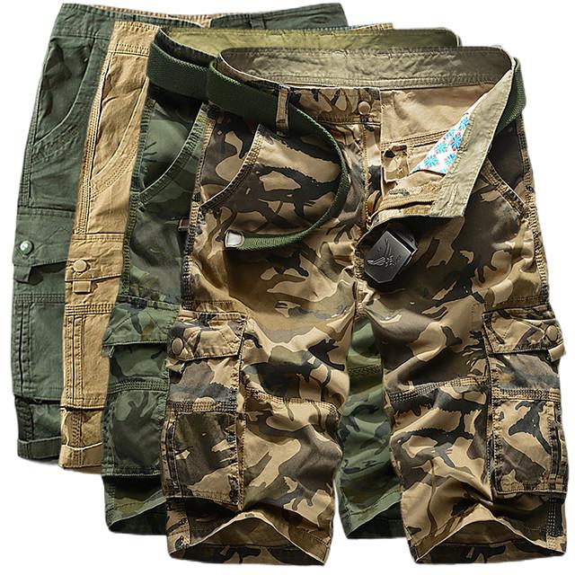 Men's Hiking Shorts Hiking Cargo Shorts Military Camo Summer Outdoor 10