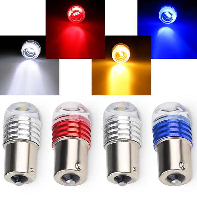 otolampara 3w dc12v 1156 1157 светодиодная лампа указателя поворота автомобиля желтый высококачественный цветной стоп-сигнал красный цвет резервный фонарь заднего хода белый цвет 1 шт.
