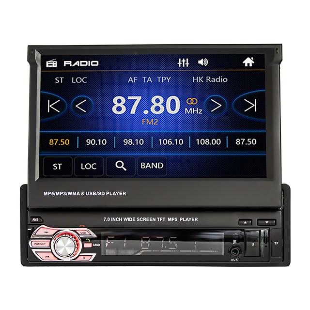 7 tommers 1 Din Windows I-Instrumentpanel / Bil MP5-spiller MP3 / RDS / Fjernkontroll til Universell Brukerstøtte