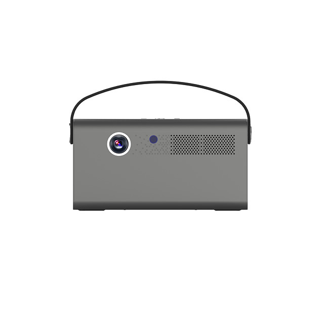 Toumei V7 3D Smart DLP Projector Android TV 9.0 Smart Projector WiFi Bluetooth Portable Projector 4D ±45°Keystone Correction 70,000 hrs Movie Projector with Netflix YouTube