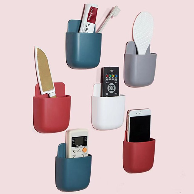 Tools Self-adhesive / Multifunction / Reusable Modern Contemporary Plastic 6pcs - Body Care Bath Organization