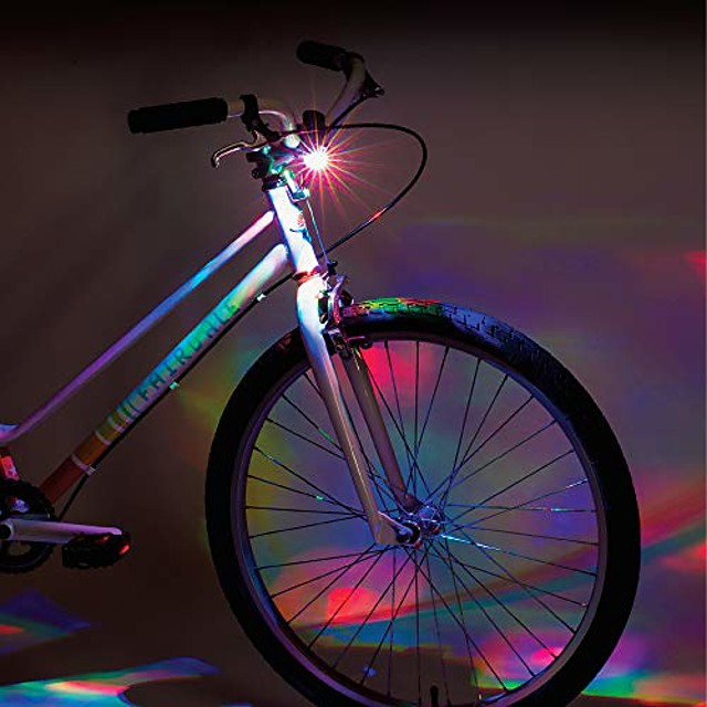 disco handlebar bicycle light, black