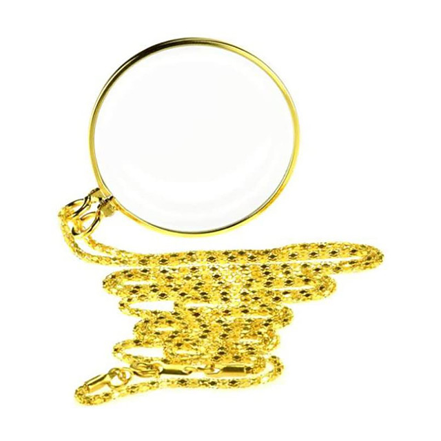 5X Magnifying Glass Pendant 1.6