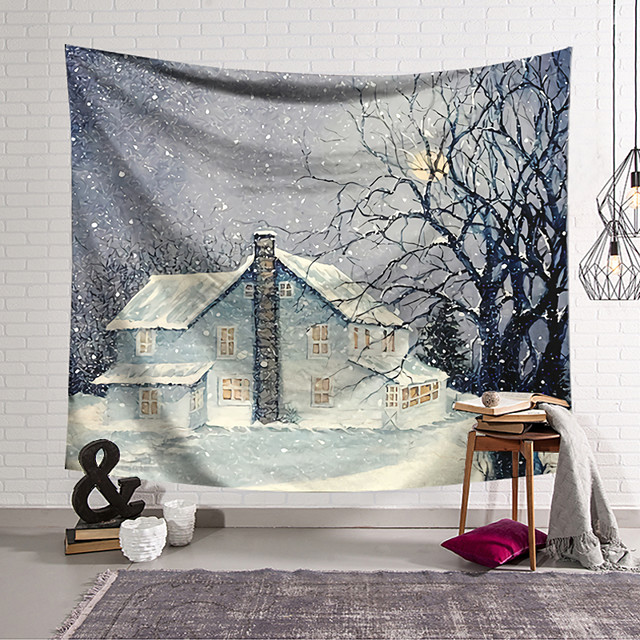 Wall Tapestry Art Decor Blanket Curtain Hanging Home Bedroom Living Room Decoration and Modern and Architecture