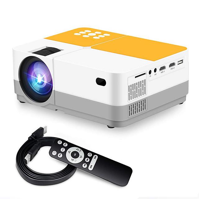 H3 έξυπνος προβολέας βιντεοπροβολέας βιντεοπροβολέας 3600 lumens εγγενής 720p lcd μίνι προβολέας 180