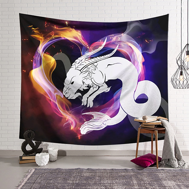 Wall Tapestry Art Decor Blanket Curtain Hanging Home Bedroom Living Room Colourful Polyester Snake