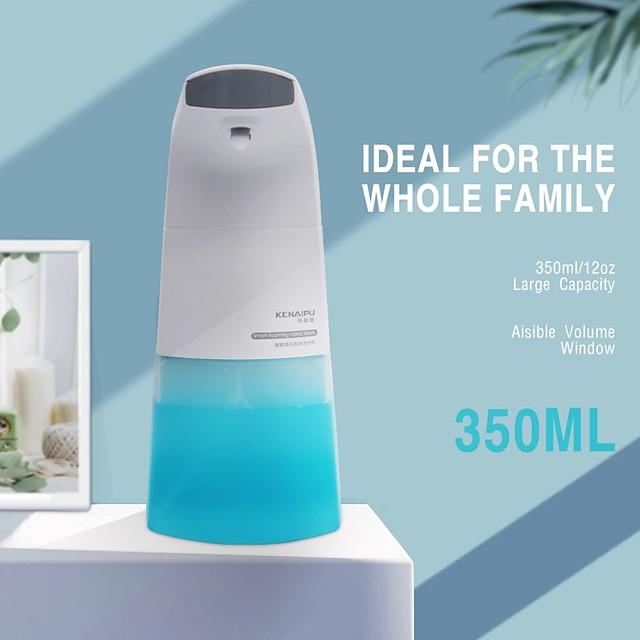 350ML Automatic Foam Soap Dispenser Hand Sanitize Wash Intelligent Liquid Soap Dispenser Bathroom Sensor Induction Hand Washing