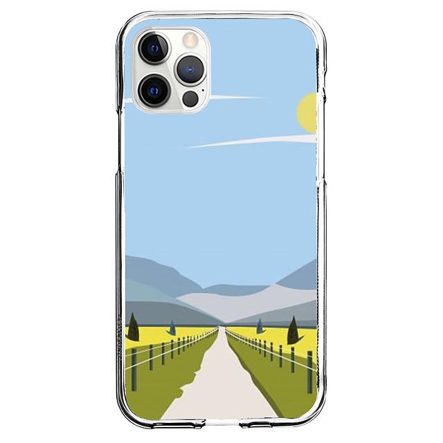 Criativo Cenário telefone Caso Para Apple iPhone 12 iPhone 11 iPhone 12 Pro Max Design Exclusivo Capa protetora Estampada Capa traseira TPU