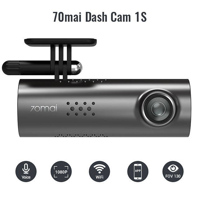 70mai 1920 x 1080 Night Vision Car DVR 130 Degree Wide Angle CMOS No Screen(output by APP) Dash Cam with WIFI / G-Sensor / Loop-cycle Recording No Car Recorder