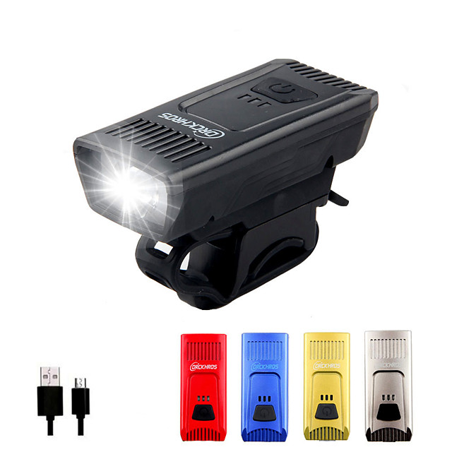 LED Bike Light LED Light Bulbs Front Bike Light Safety Light LED Bicycle Cycling Waterproof Wearproof Durable 14500 1200 lm Built-in Li-Battery Powered Natural White Everyday Use Cycling / Bike