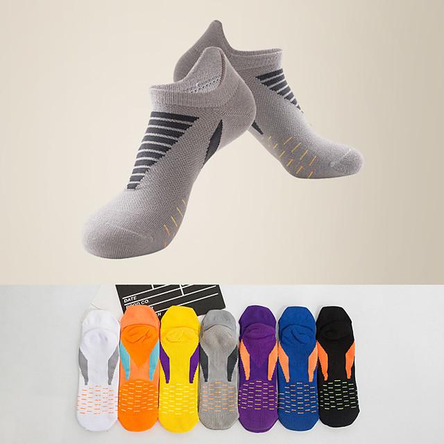 Litb basic calcetines deportivos de secado rápido para hombres calcetines de chinlon transpirables con fondo de toalla neon sox talla única eu 39-44 para hombre