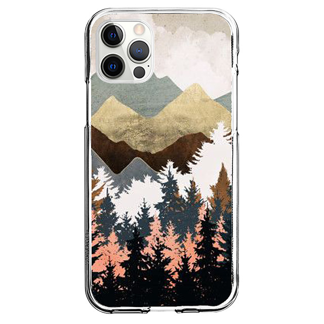 Creative Scenery Case For Apple iPhone 12 iPhone 11 iPhone 12 Pro Max Unique Design Protective Case Pattern Back Cover TPU
