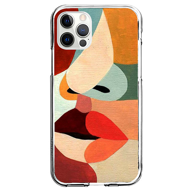 Creative Mouth Case For Apple iPhone 12 iPhone 11 iPhone 12 Pro Max Unique Design Protective Case Pattern Back Cover TPU