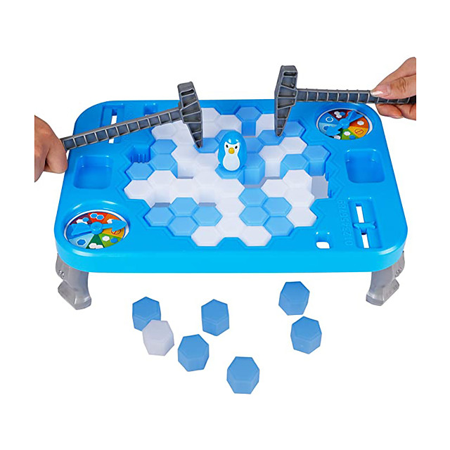 Ice Breaker Game Save Penguin On Ice Block Family Funny Game Penguin Trap Activate Game