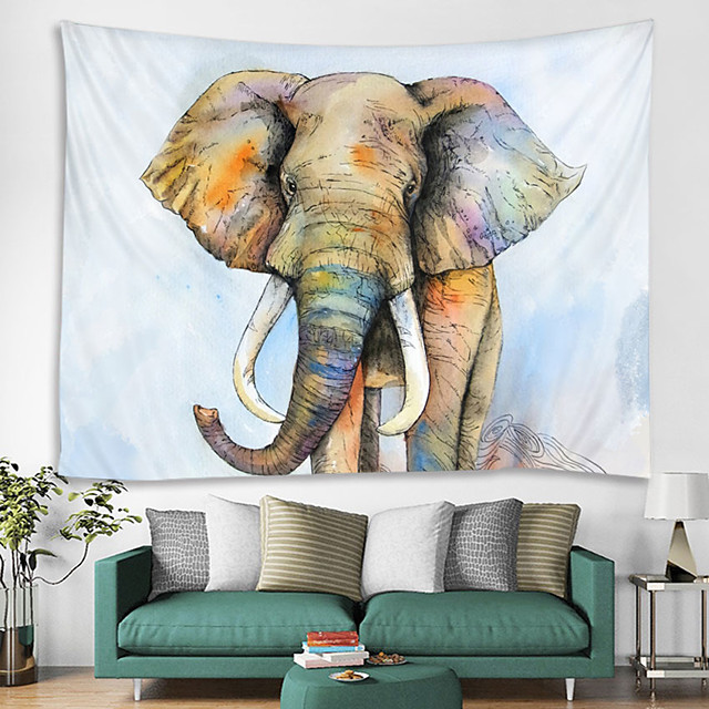 Wall Tapestry Art Decor Blanket Curtain Hanging Home Bedroom Living Room Decoration and Modern and Animal