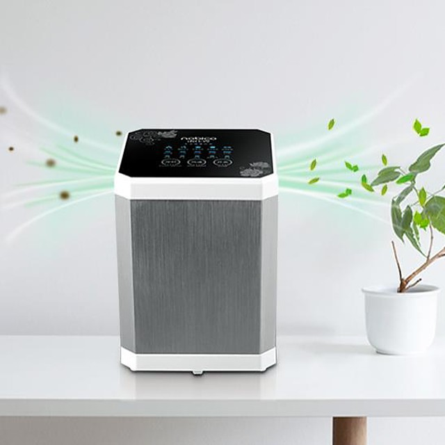 Air Purifier for Home Alumium Alloy Material Negative Ion Removal of Formaldehyde Household Desktop Removal of Smoke and Dust PM2.5 1pc