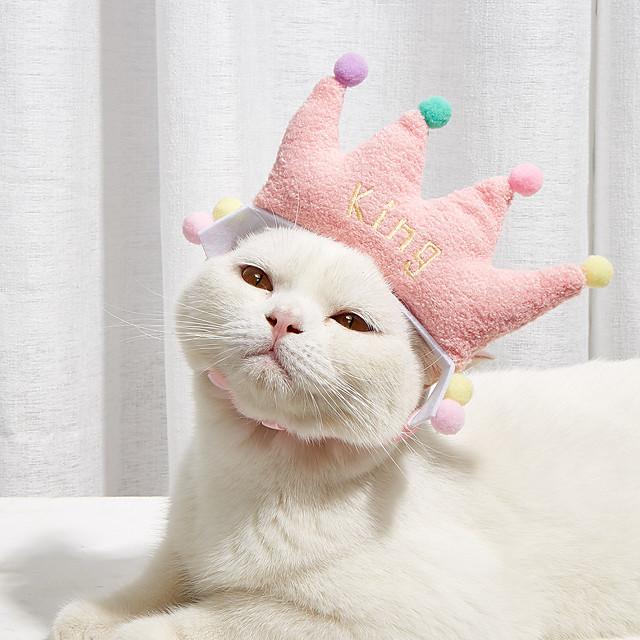 Birthday Girl Tie On Dog Bandana Pink Sprinkles Dog Scarf Gold Neckwear Happy Birthday Cat Bandana