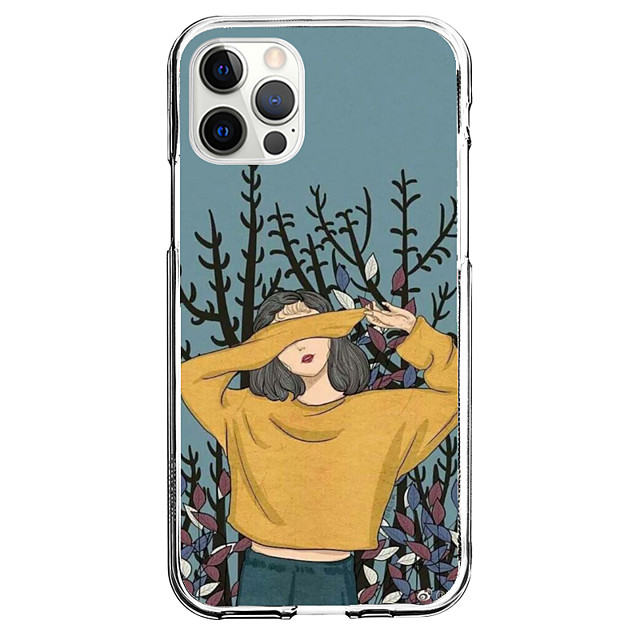 Creative Characters Case For Apple iPhone 12 iPhone 11 iPhone 12 Pro Max Unique Design Protective Case Pattern Back Cover TPU