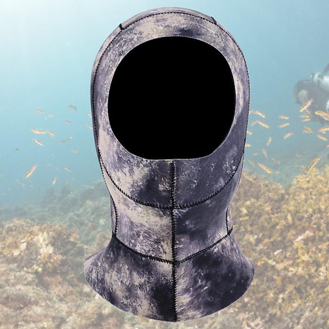 ダイビングフード 3mm CR ネオプレン のために 大人 - 保温 速乾性 低摩擦 水泳 潜水 サーフィン / 冬 / 伸縮性