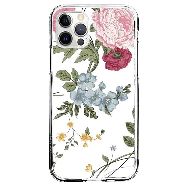 Flower Case For Apple iPhone 12 iPhone 11 iPhone 12 Pro Max Unique Design Protective Case Pattern Back Cover TPU