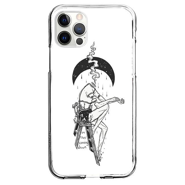Δημιουργικό Χαρακτήρες τηλέφωνο Υπόθεση Για Apple iPhone 12 iPhone 11 iPhone 12 Pro Max Μοναδικός σχεδιασμός Προστατευτική θήκη Με σχέδια Πίσω Κάλυμμα TPU