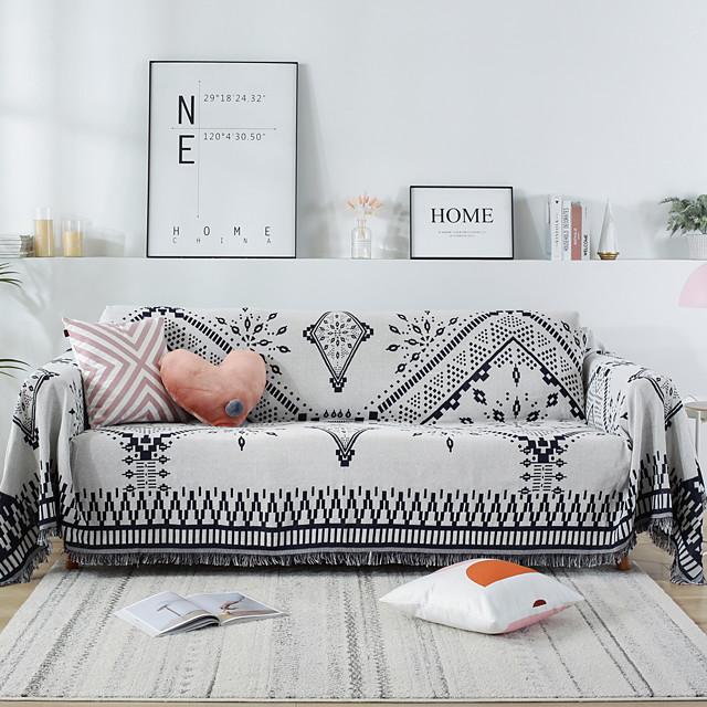 sofa cover sofa blanket geometric print sofa cover sofa protector sofa throw cover lavable para sillón / loveseat / 3 seater / 4 seater / l shape sofa